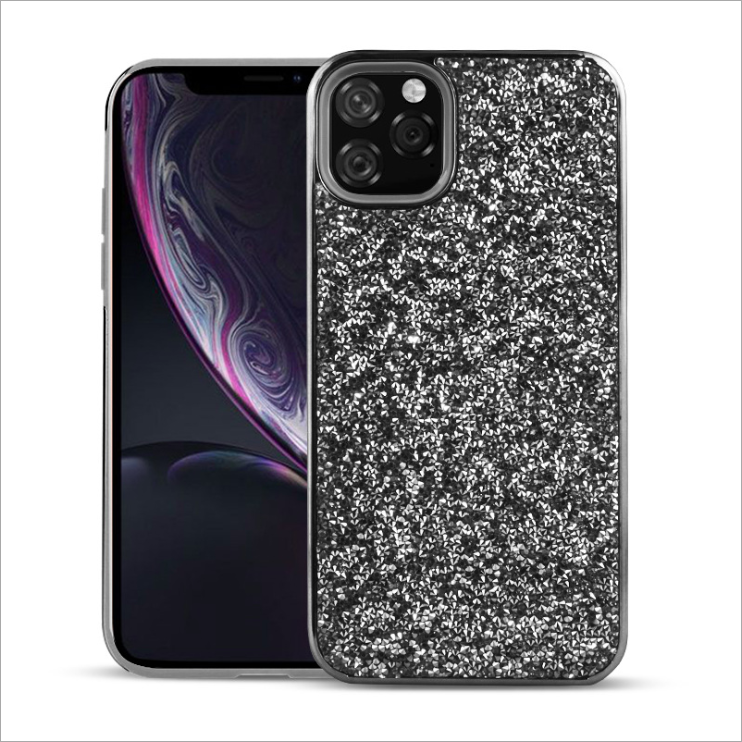 Voor iPhone 11 Case Fashion Bling Glitter Patroon Zachte TPU Skin Case Cover Voor IPhone 11 Pro Max Hybrid particulier Aangepaste