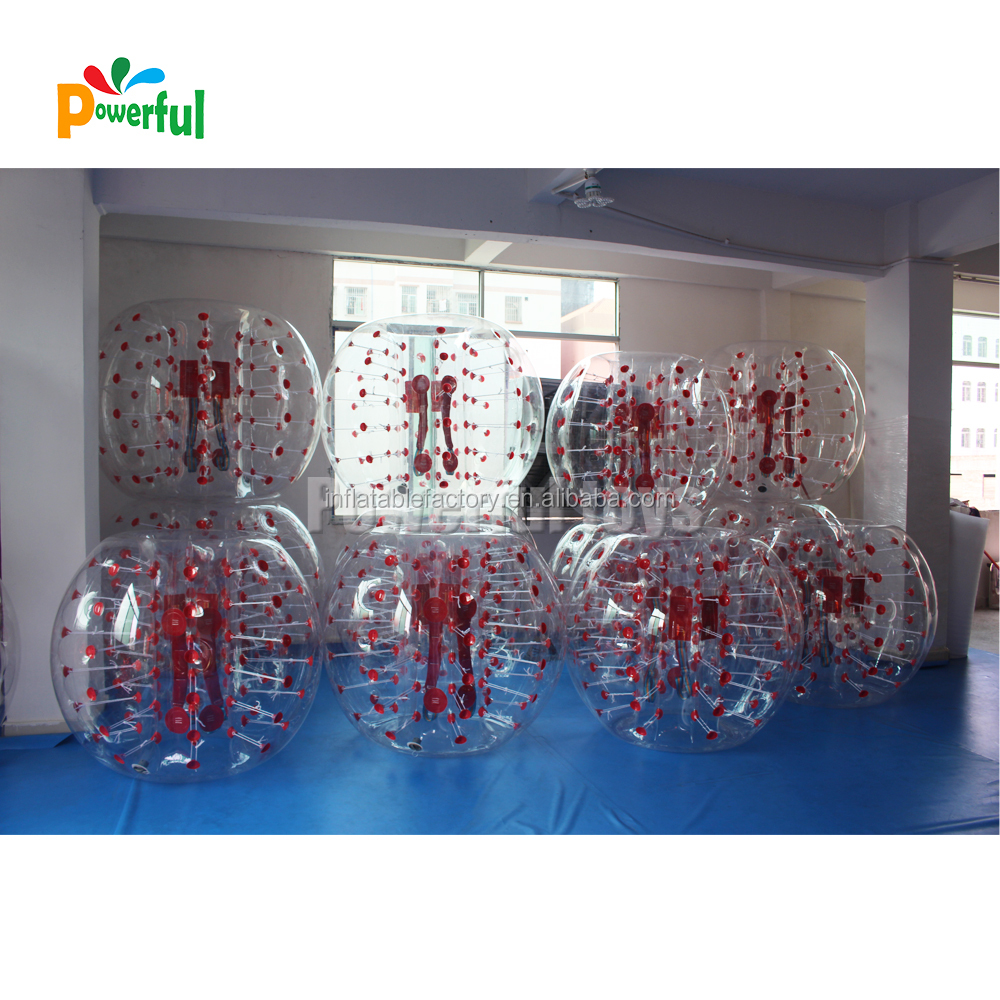 Factory OEM inflatable knock bubble football inflatable bubble soccer ball