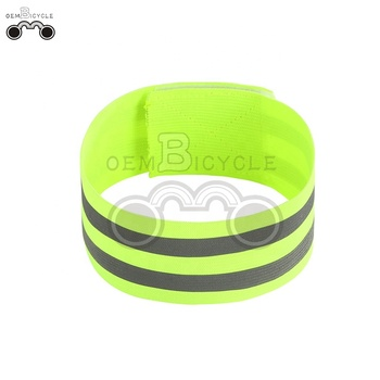 hot sale oem bicycle Elastic band with two reflector