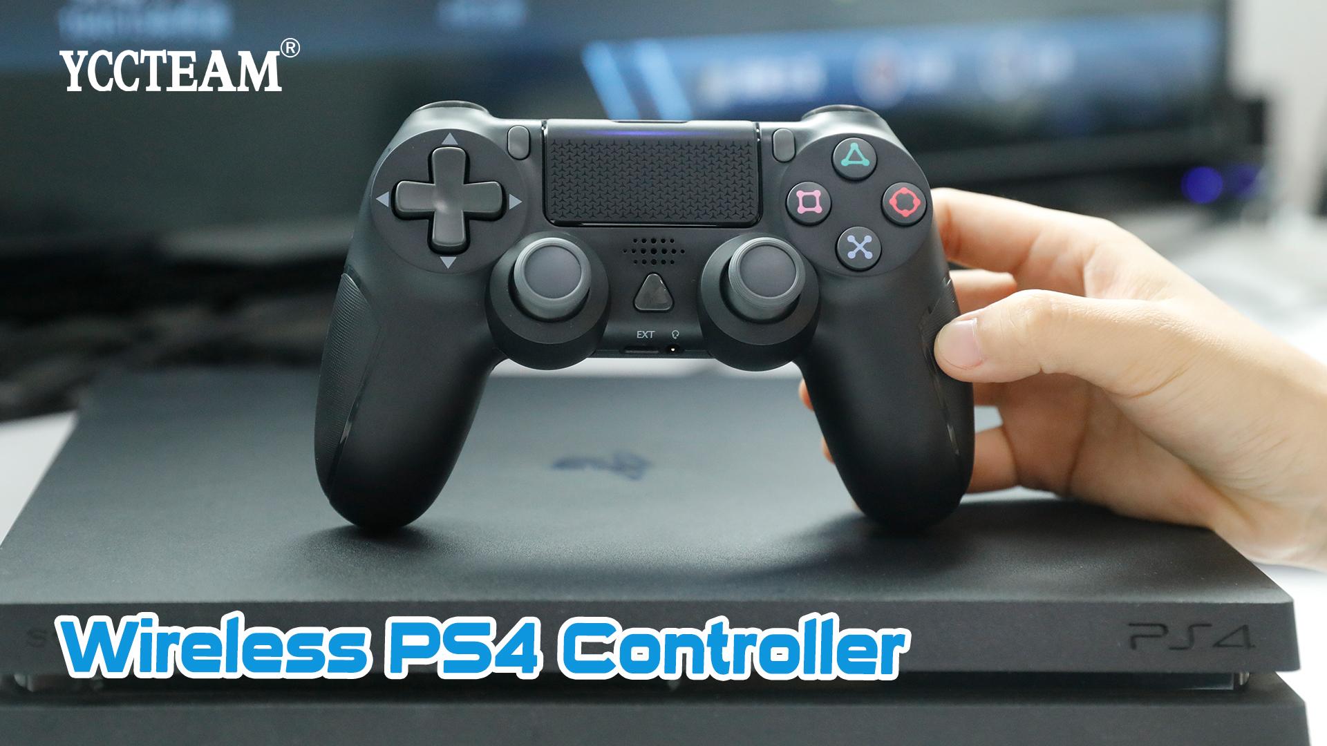 New Thiết Kế Bộ Điều Khiển Chơi Game Phím Điều Khiển Cho PS4/PS4 Pro/PS4 Điều Khiển Không Dây Mỏng Trong Trắng