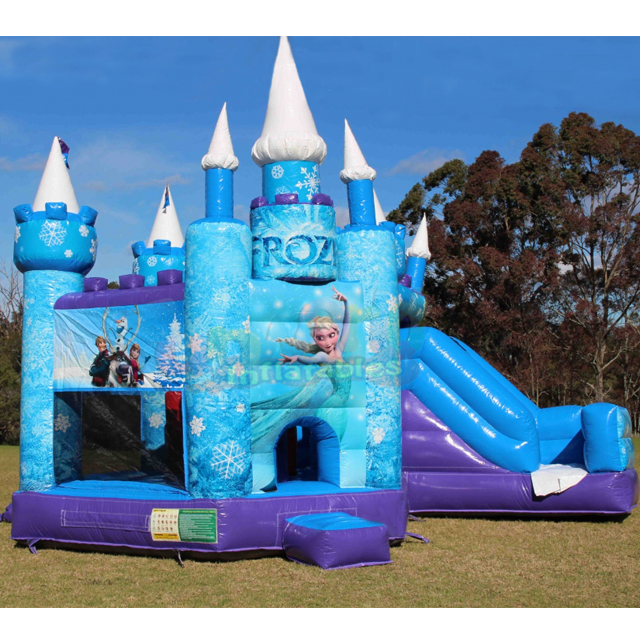 Commercial frozen jumping inflatable bouncy castle
