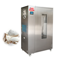 electric commercial hot air cassava meat and fish tea leaf dryer machine