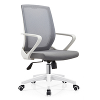 JOHOOFURNITURE Office Meeting Stackable Conference Room Chair Training Waiting Chair