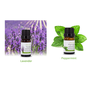 OEM/ODM lavender peppermint essential oil, 100% pure and natural