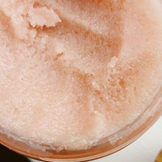 Private Label Natural Exfoliating Body Polish Rose Sugar Body Scrub