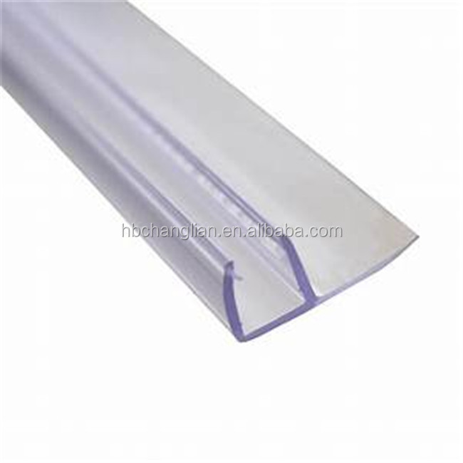 Puerta ventana de vidrio de silicona a prueba de agua de goma PVC tira de sellado
