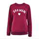 Women's Plus Velvet Fashionable Long Sleeve Casual Sweatshirt Printing Heart-shaped Print Kawaii Sweatshirt Clothing