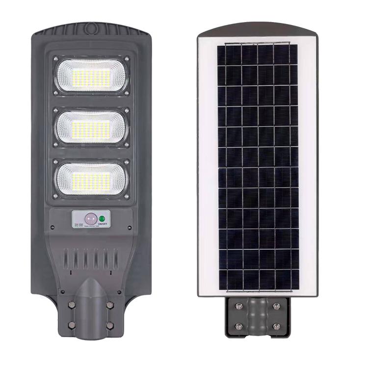 IP65 Alta Brilhante Automático à prova d' água Ao Ar Livre Lâmpada Da Estrada LEVOU com Preço Baixo de Iluminação 120W Solar Rua Luz Ao Ar Livre Do Sensor