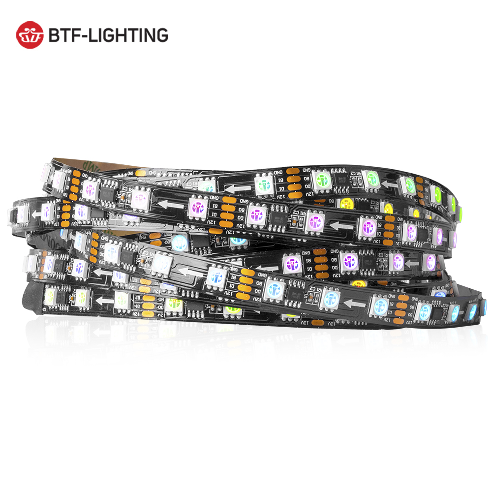 12v 96pixels <strong>color</strong> changing flexible tape <strong>light</strong> ws2818 led strip