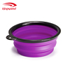 Premium Silicone Collapsible Pet Bowl Portable Dog Food and Water Bowl with a Free Carabiner