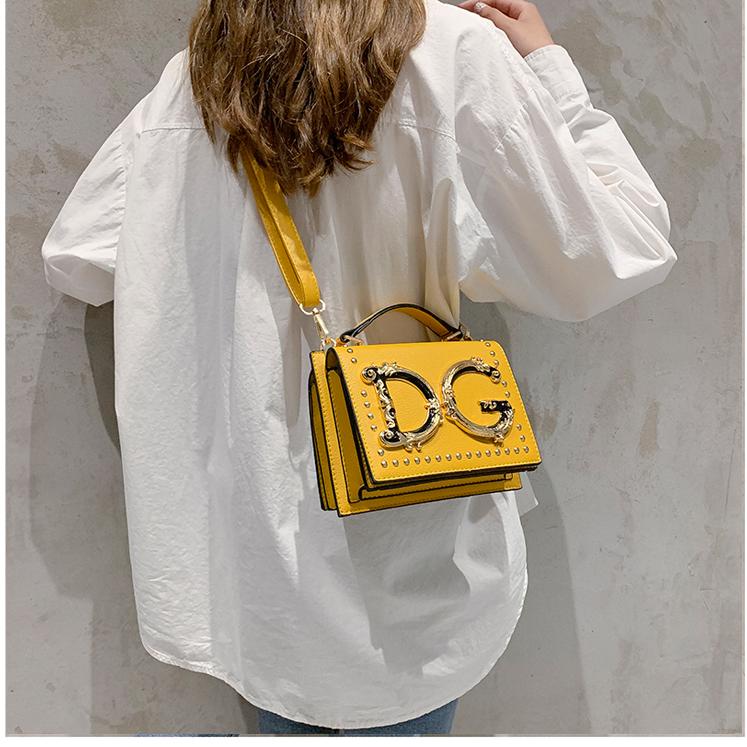 SAC A หลัก Stylish Letter สุภาพสตรีกระเป๋าสะพายกระเป๋า PU กระเป๋าหนังกระเป๋าถือผู้หญิง