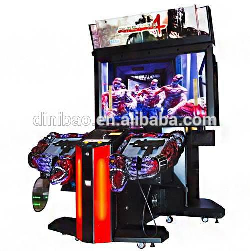 New Cheap Shooting Gun Equipment 55lcd The House Of Dead 4 Arcade