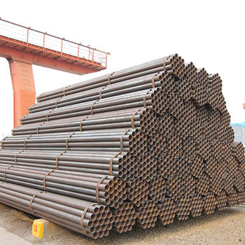 1 1/2 inch carbon steel pipe building material erw carbon steel tubes size 48mm