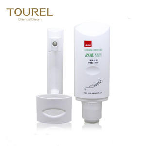 Hotel used liquid wall hair shampoo soap dispenser oem for hand and body washing