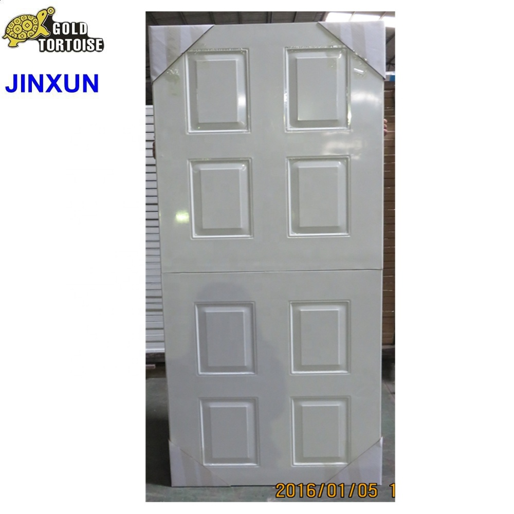 4 Panel 36 in. Brown Half Door,Steel Door