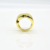Hip Pop Gold Rings And Wedding Bands Adjustable Rings For Men Jewelry