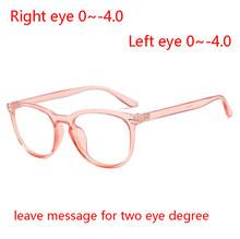 1,56 Асферические рецептурные линзы очки женские прозрачные линзы овальные заклепки готовые близорукость очки для мужчин 0-0,5-0,75-1,0 до-4,0(Китай)