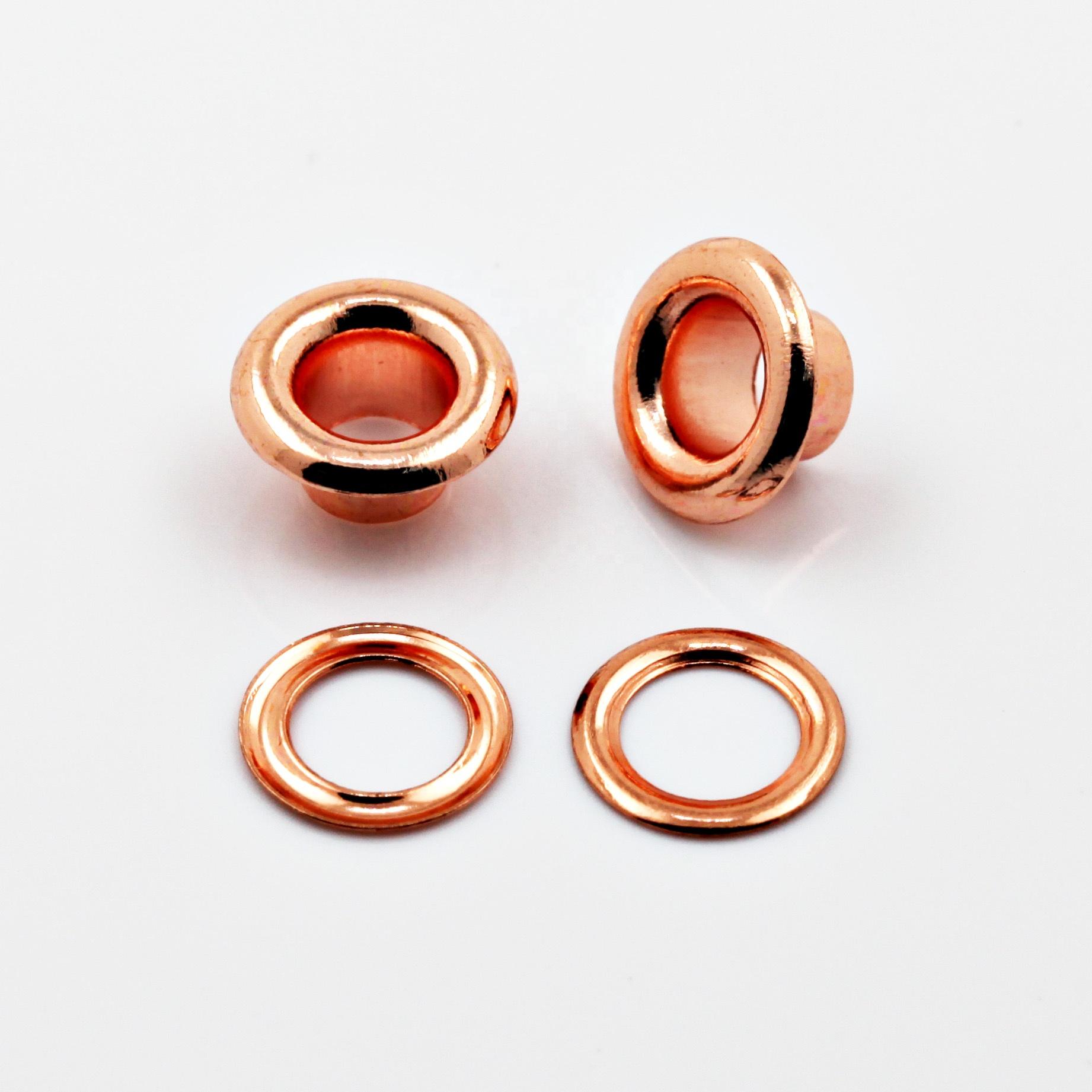 Hot Sale 14mm Decorative Metal Eyelets for Handbags Purses or Garments