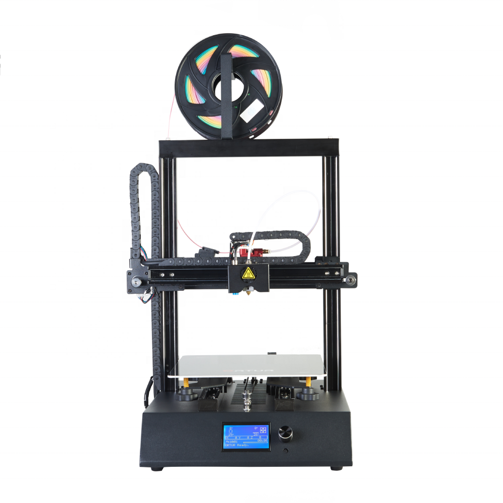 ORTUR New Generation Metal Ortur-4 <strong>V1</strong> 3D printer large size linear rail guide 3D drucker free filaments <strong>TF</strong> card 3d print machine