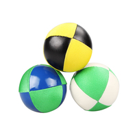 soccer ball thud soft leather juggling ball set with logo