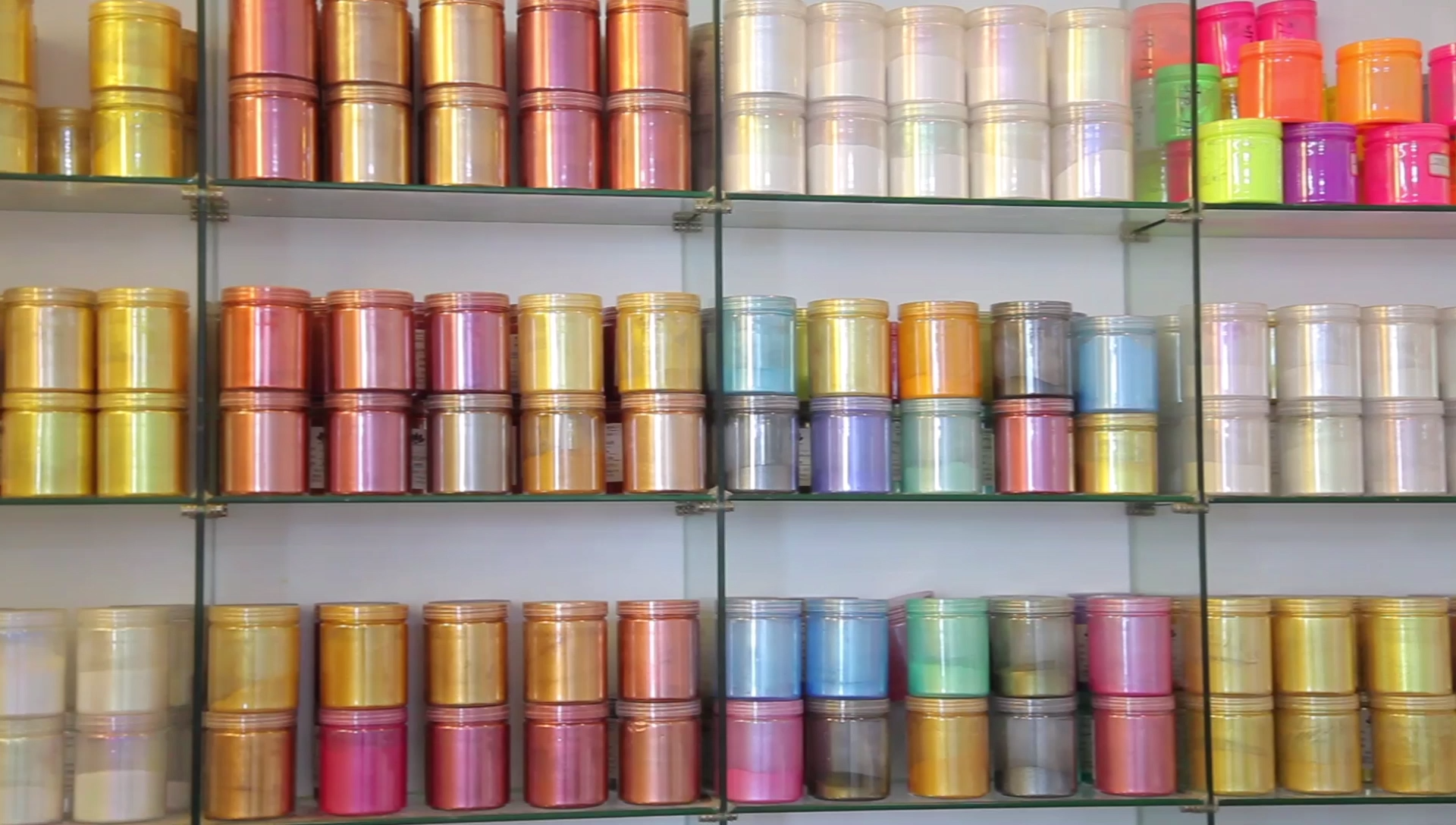 Jingxin धातु का रंग Epoxy मंजिल पिगमेंट मीका Epoxy राल कोटिंग के लिए पाउडर