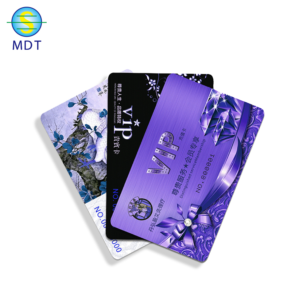 Mdt plastic pvc photo id card maker promotion