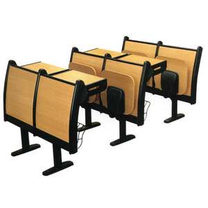 Factory directly service of college student desk chair for amphitheater classroom