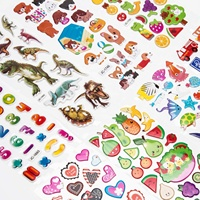 3D Stickers for Kids Toddlers Puffy Stickers Variety Pack for Scrapbooking Bullet Journal Including Animal Numbers