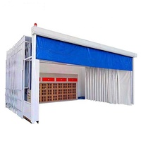 Huaxing Good Quality Vehicle Paint Booth /Painting Machine/Car Spray Room