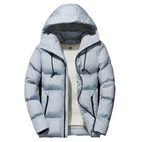 Drop Shipping Winter Casual Down Men Parkas Overcoat Clothing Mens Jacket
