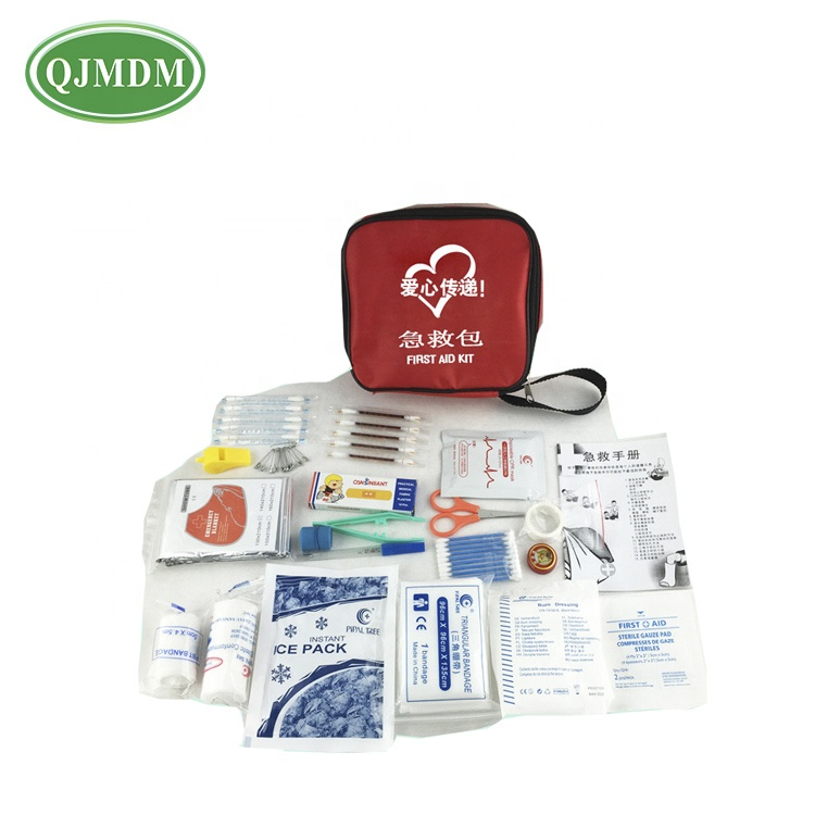China Factory Manufactured Baby Medical Emergency First Aid Kits