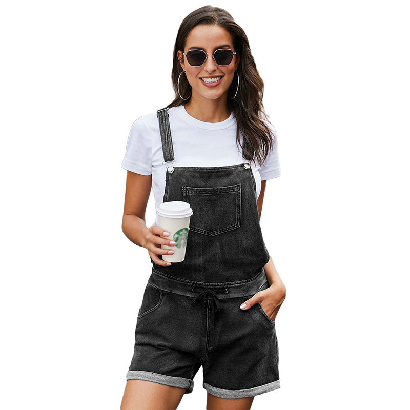 Venta al por mayor overol de jeans short Compre online los