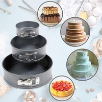 Commercial Round Cake Tray Alloy Baking Accessories Tools Pie Pan Bakeware