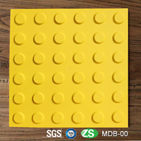Rubber Tactile Paving Bricks for Disabled Porch