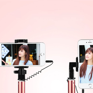 Selfie Stick Extendable Handheld Self-portrait Holder Monopod Stick For Cell Phone Professional Drop Shipping