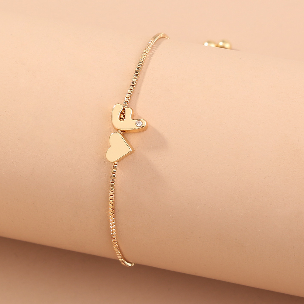 Initial 26 English Alphabet Fashion Letter Bracelet For Women
