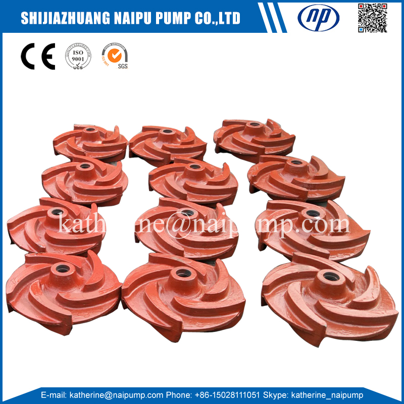 Naipu SP4206A05 vertical pump wetted components impeller for mine