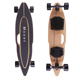 Moovi remote control fasted electric folding longboard Dual Drive all terrain booosted electric offroad skateboard