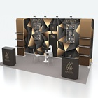 Excellent design 20*10FT custom portable aluminum fair stand exhibition booth