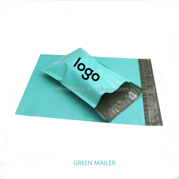eco friendly luxury matte black polymailer custom own logo /custom shipping bag/polymailer