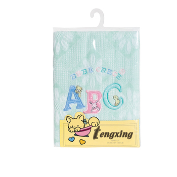 High quality Nylon hand knitted baby shawl
