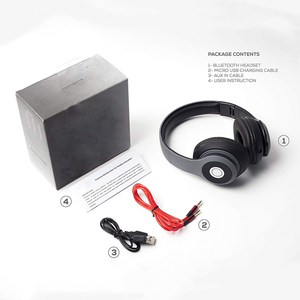 Wireless Sports Bluetooths Headset Over-ear Headband Foldable Headphone