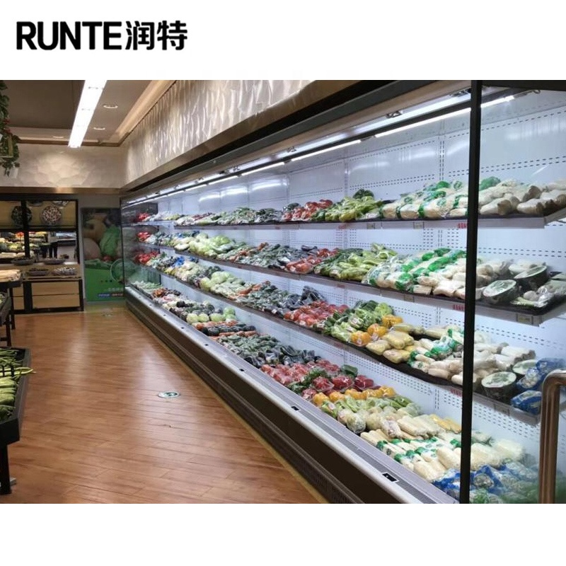 vegetable refrigerator/ display refrigerator/commercial refrigerator for vegetable and fruit