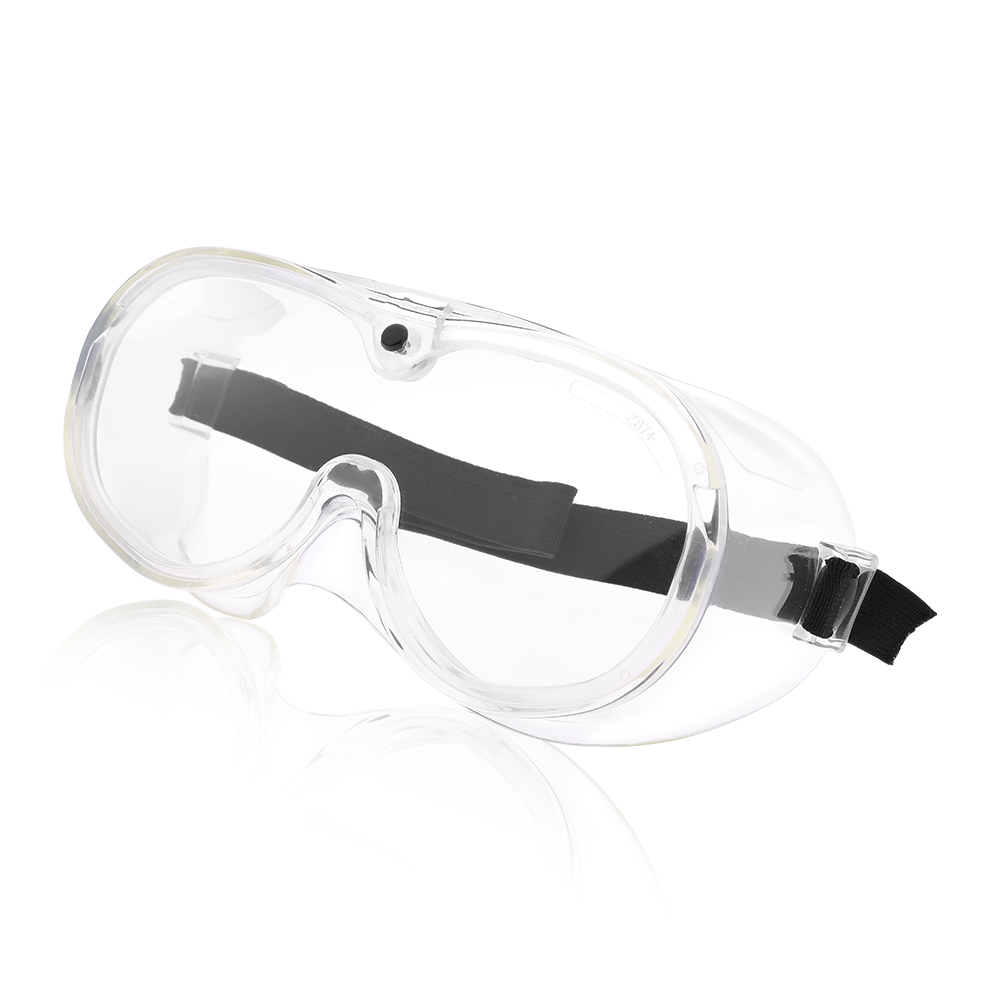 Crystal Clear Anti-Fog Design Perfect Eye Glasses Protective Safety Glass Protection for Lab Chemical and Workplace Safety