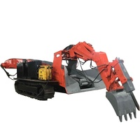 Machine Equipment Rock Coal Underground Tunnel Crawler Mining Mucking Loader