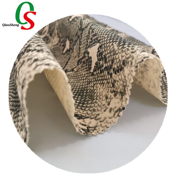 Wiwu-tricot en microfibre, tissu à la mode avec motif imprimé numérique, en Polyester, brocart Floral, Jacquard, fausse fourrure