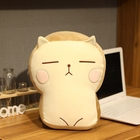 Doll Lovely Bread Pillow Stuffed Toy Toast Doll Expression Pack Plush Toy Sandwich Hamburger Cat Children's Activity Gifts