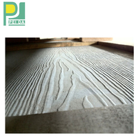 High Quality Wood Grain Fiber Cement Siding Exterior Wall Panels