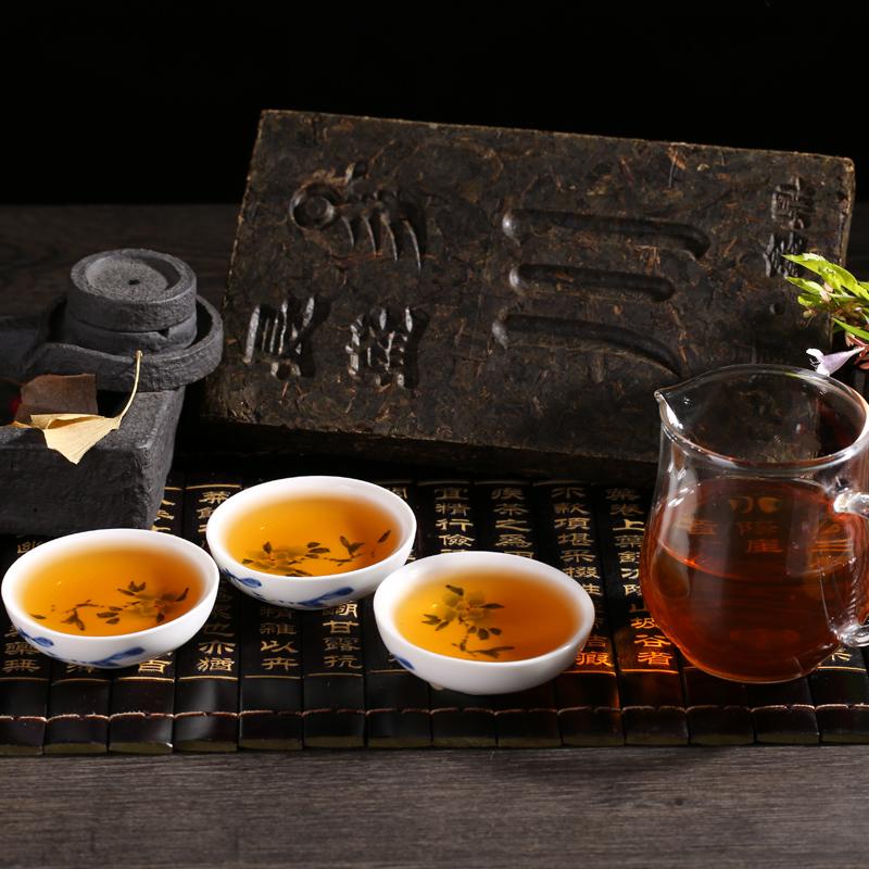 Compressed dark tea 600g with convenient packing lowering blood pressure/sugar - 4uTea | 4uTea.com
