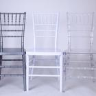 Chair White Chair Plastic Acrylic Cafe Limewash And Gold Transparent Clear Wedding Stacking Tiffany White Chiavari Chair